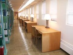 Photo: Lower Level Study Desks