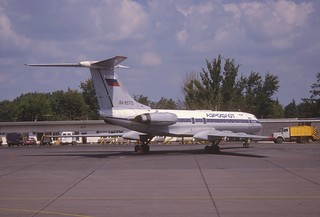 138ae - Aeroflot Russian Airlines Tupolev 134A-3; RA-65770@SVO;15.07.2001