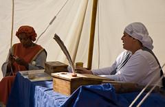 Fête Médiévale_Scribes Tent
