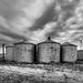 Desolate silos