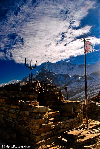 Ganesha temple on the way to Roopkund