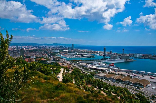 Barcelona Landscape | Flickr - Photo Sharing!