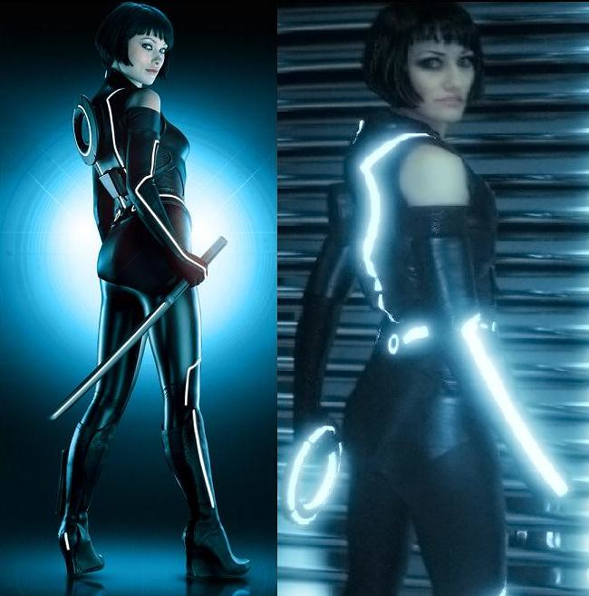 Me As Quorra From Tron Legacy Comparison Shot My Quorra Flickr