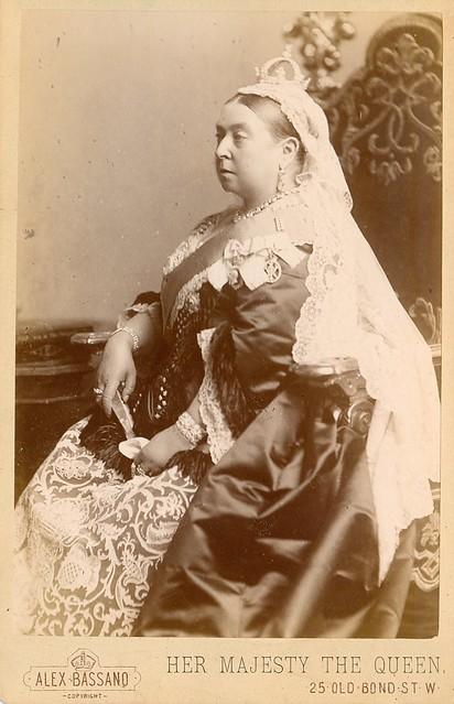 Cabinet photo of Queen Victoria