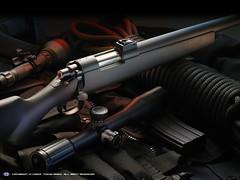 soldier(0.0), screenshot(0.0), weapon(1.0), shotgun(1.0), rifle(1.0), firearm(1.0), gun(1.0), gun barrel(1.0),