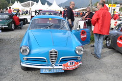 automobile, alfa romeo, vehicle, automotive design, alfa romeo giulietta, antique car, sedan, classic car, vintage car, land vehicle, motor vehicle,