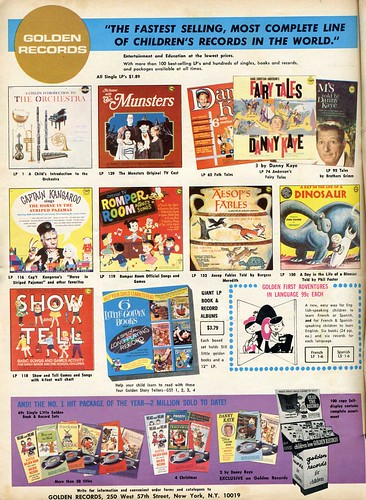 Golden Records children's records 1965