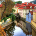 Water Wheel in Prague