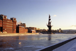 Winter on the Moskva-river
