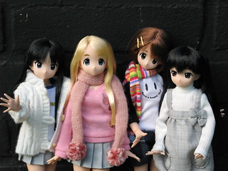 K-on girls