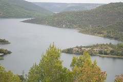 floodplain, fjord, reservoir, river, loch, lake, waterway,