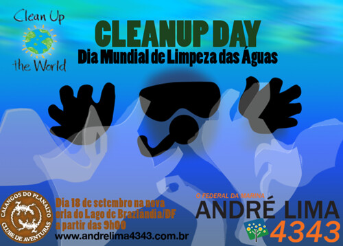 Clean Up Day - Dia Mundial de Limpeza das Águas