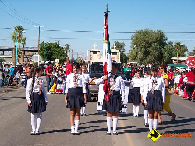 Desfile Bicentenario Ciudad Morelos Cuervos