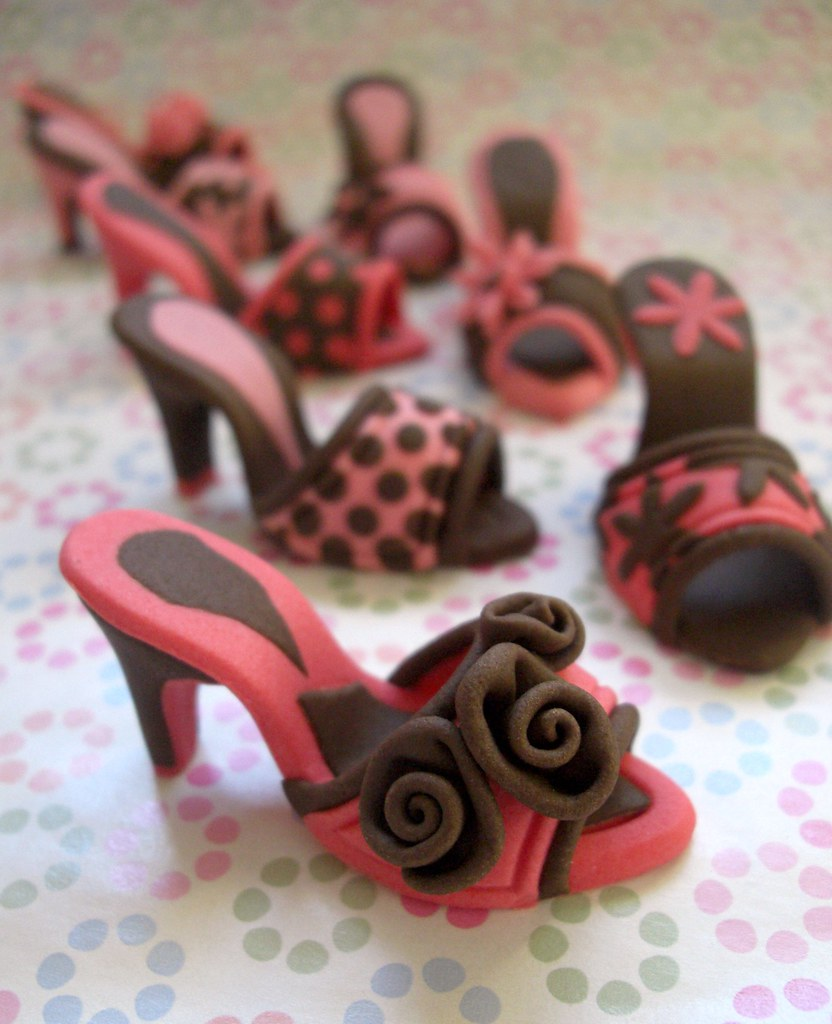 Fondant Shoes A Photo On Flickriver