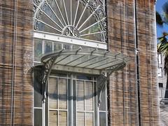 Jardin des plantes de Nantes - Détail porte d\'entrée du pa ...