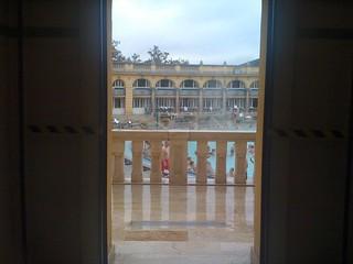 Image of Széchenyi thermal bath near Budapest XIII. kerület. hungary honeymoon budapest thermalbath szechenyi széchenyi széchenyibaths