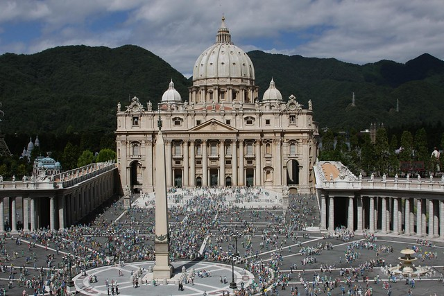 St. Peter's Square diorama