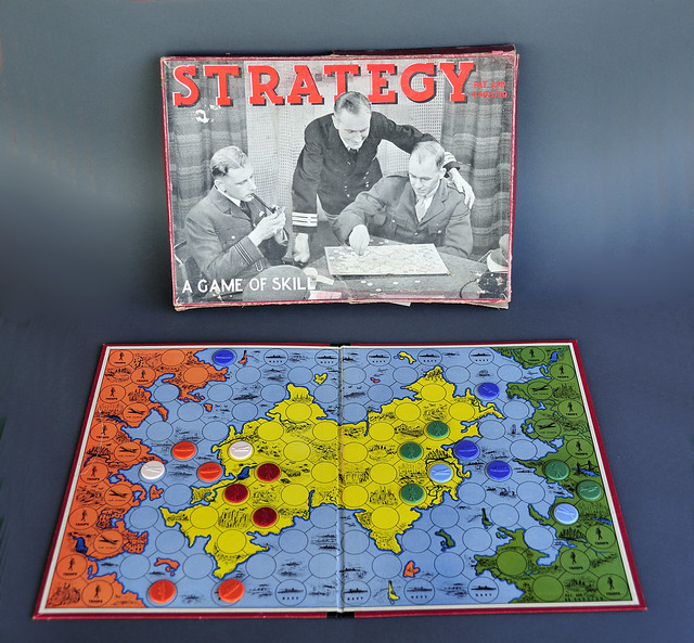WWII-era Board Game: Strategy | Flickr - Photo Sharing!