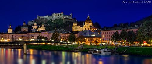 The Old Town Salzburg - Austria