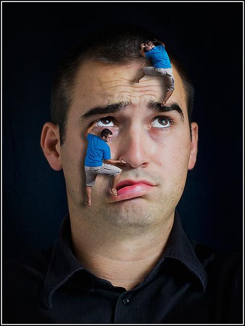 """Série """"Mes portraits"""" de Sim_Pakost 5051414430_cffd0904cf_z"""