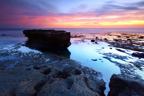 sunset bali seascape beach nature colors canon indonesia landscape photography outdoor echo bluehour lowtide 1022mm surfbreak canggu canoneos50d leefilters
