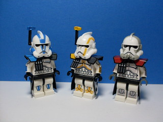CW season 3 ARC Troopers