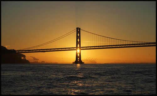 canon t2i 1755mm f28 oakland bay bridge sunrise 101010 yerbabuenaisland cranes estuary canonefs1755mmf28isusm explore explored interestingness interesting polarized polarize circularpolarizer stickneydesign lifelover4 sfobb baybridge sanfranciscooaklandbaybridge california bayarea westernspan sf sanfrancisco fishing boat arima crosshairs willielbrownjrbridge architecture structure water hughstickney span