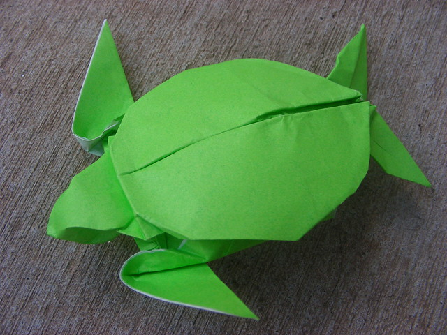 How To Make An Origami Sea Turtle