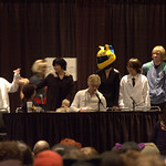 Durarara Voice Actor and cosplay group
