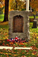 Troy N.Y. USA - Oakwood Cemetery
