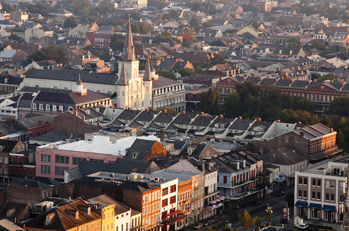 morning travel vacation church architecture sunrise dawn nikon october louisiana cathedral neworleans frenchquarter jacksonsquare nikkor dslr 2010 bigeasy stlouiscathedral d90 vieuxcarré 18105mm vxla 2010s 18105f35