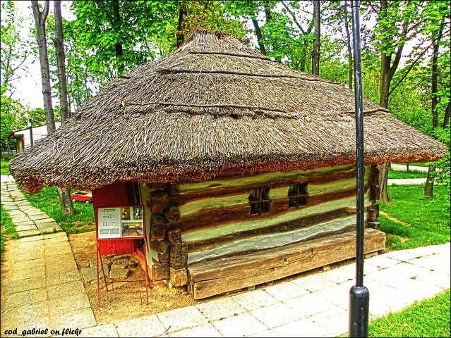 Photo - Romanian peasant houses ...
