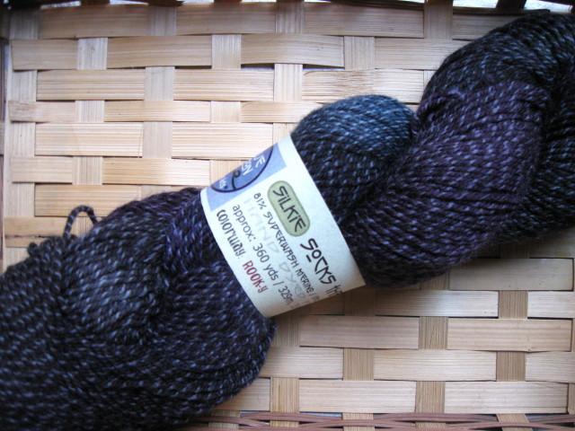 Blue Moon Fiber Arts Silkie Socks that Rock