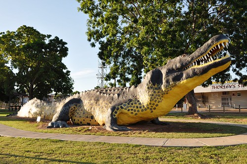 The big crocodile - Wyndham WA