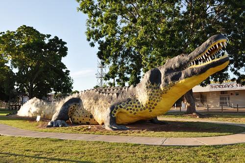 The big crocodile - Wyndham WA