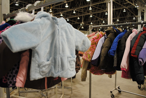 Coats awaiting kids by SalvationArmyIndiana
