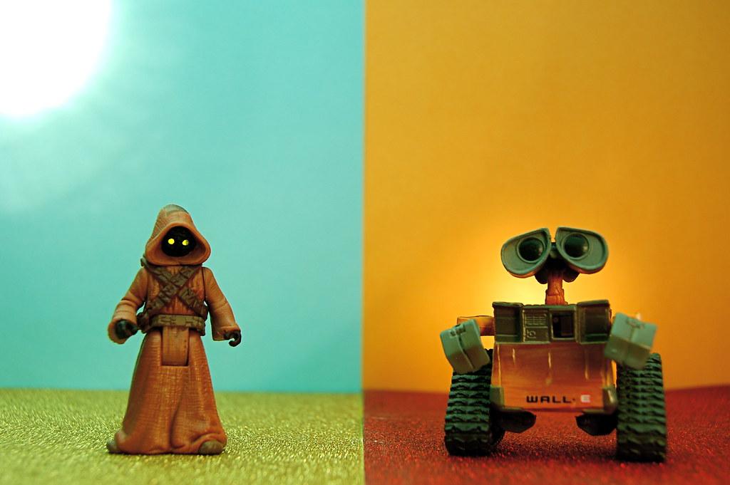 Jawa vs. WALL-E (312/365)