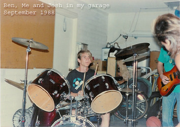 Photo:Jamming in Mom's Garage (09/1988) By Tim Patterson