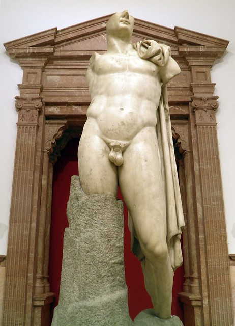 Statue of Trajan, erected at the time of Hadrian, 117-138 AD, Archaeological Museum, Seville