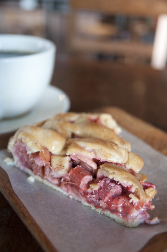 Strawberry Rhubarb Raspberry Pie, The Grove, San Francisco - 無料写真検索fotoq