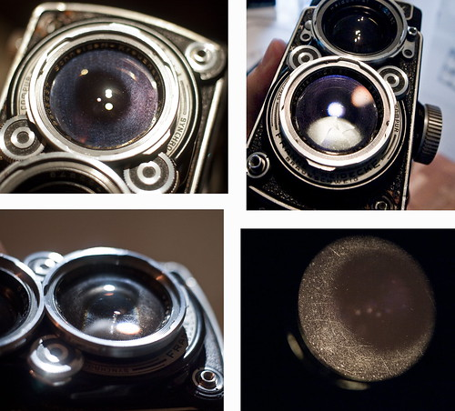 rolleiflex- xenotar - problems coating - taking-lens