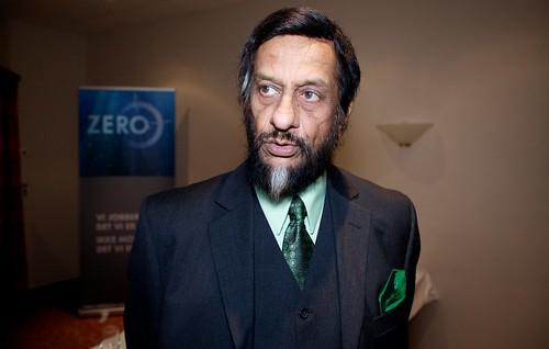 聯合國政府間氣候變遷小組 (IPCC) 主席帕卓里 (Rajendra Pachauri) 。(圖:Zero Emission Resource Organisation)