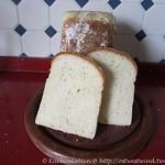 Sandwichbrot mit saurer Sahne