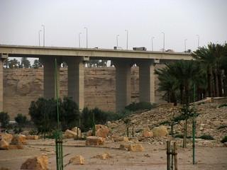 Makkah Highway over Wadi Hanifah