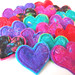 Lots of Lovely Love Heart Brooches
