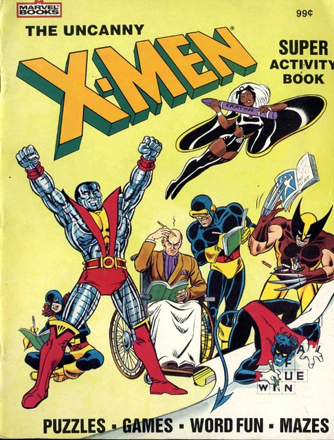 X-Men Super Activity Book00001