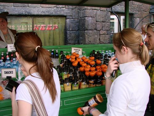 Harry Potter Beverage Cart