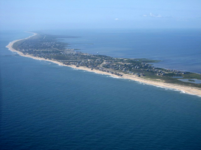 Outer banks nc rodanthe birdseye view flickr for Outer banks sound fishing