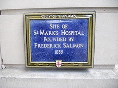 Photo of Frederick Salmon blue plaque