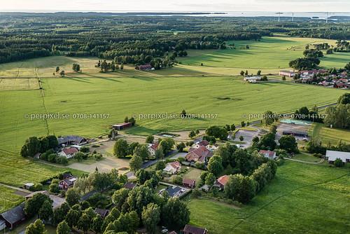 hasslerör flygfoto hamburgsund mariestad västragötaland sverige swe